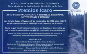 PVpharm invited to ICARO Awards from University of Almería