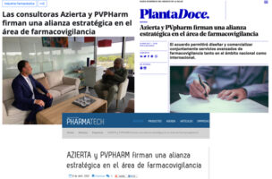 PVpharm and Azierta agrees on a strategic alliance in Pharmacovigilance